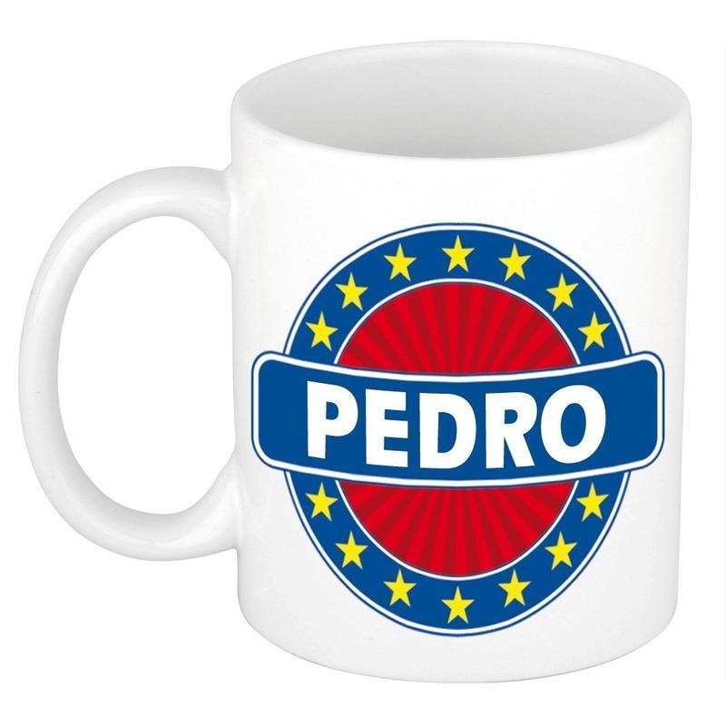 Kado mok voor Pedro