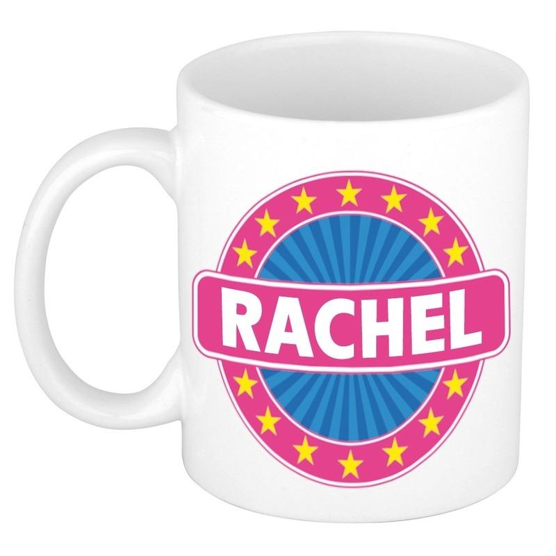 Kado mok voor Rachel