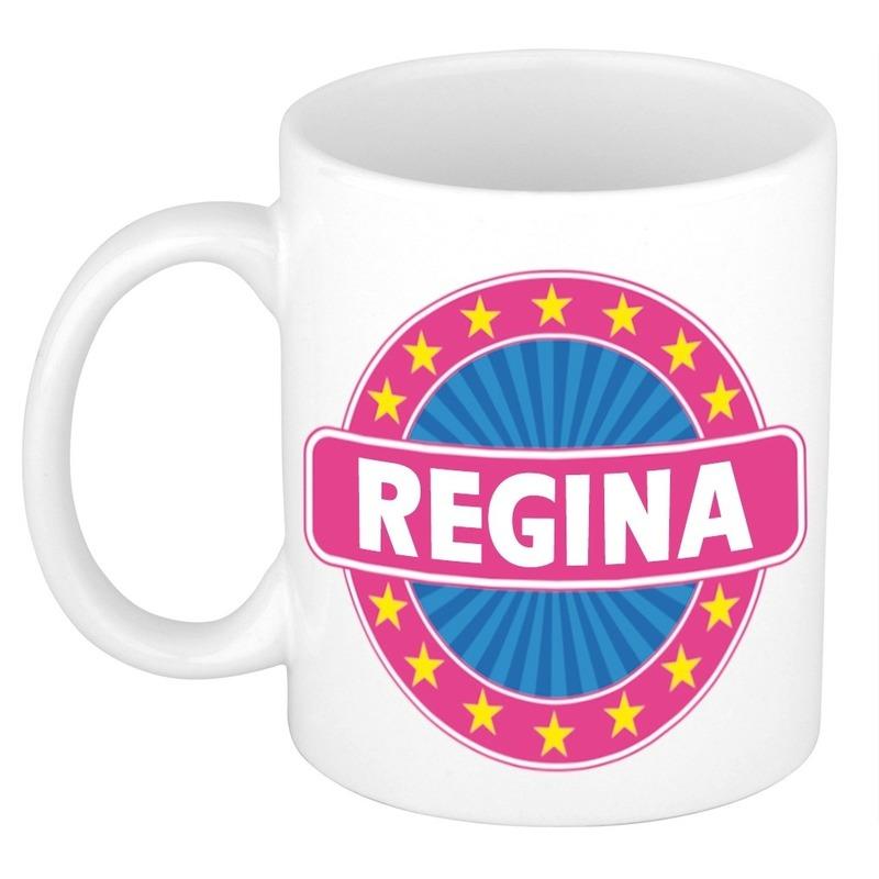Kado mok voor Regina