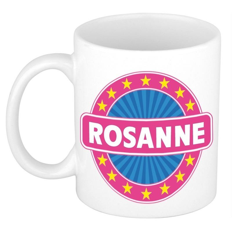 Kado mok voor Rosanne