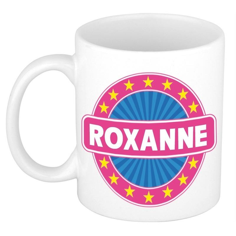 Kado mok voor Roxanne
