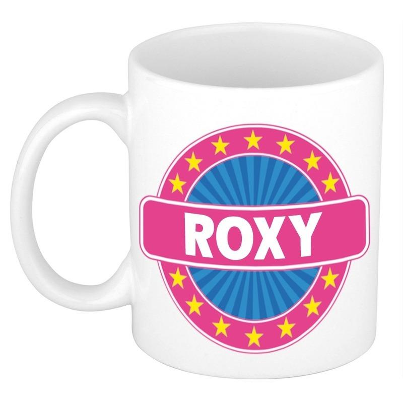 Kado mok voor Roxy