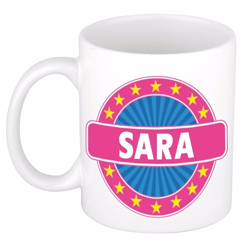 Kado mok voor Sara