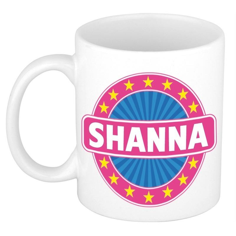 Kado mok voor Shanna