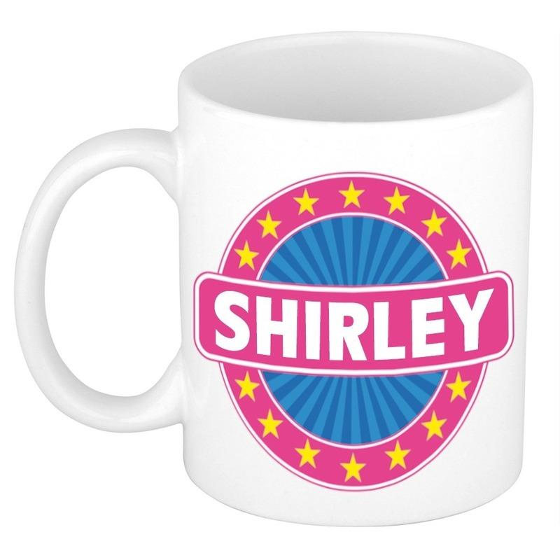 Kado mok voor Shirley