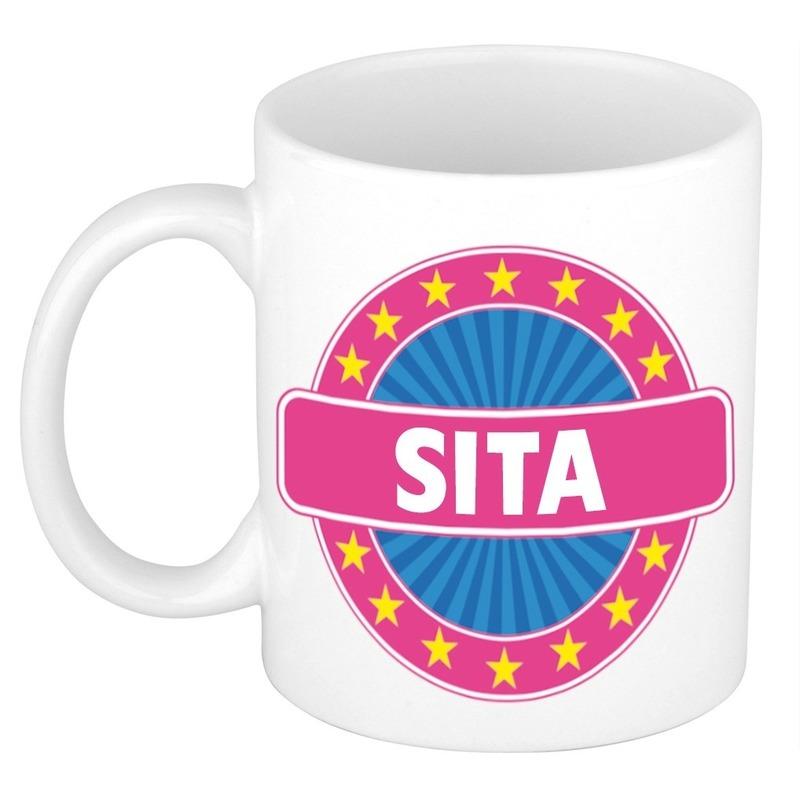 Kado mok voor Sita