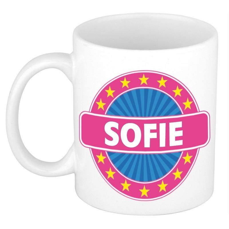 Kado mok voor Sofie
