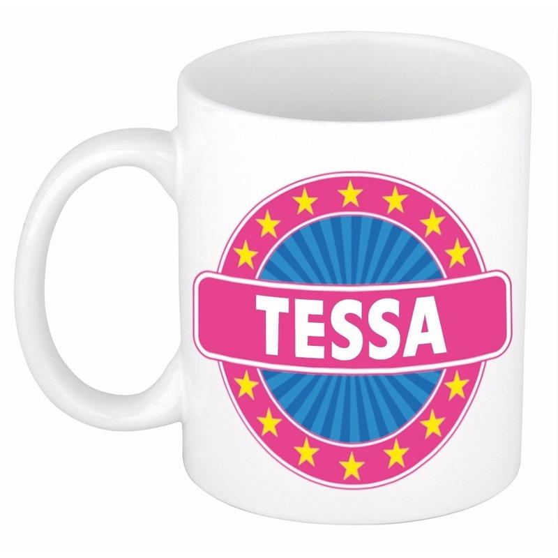 Kado mok voor Tessa