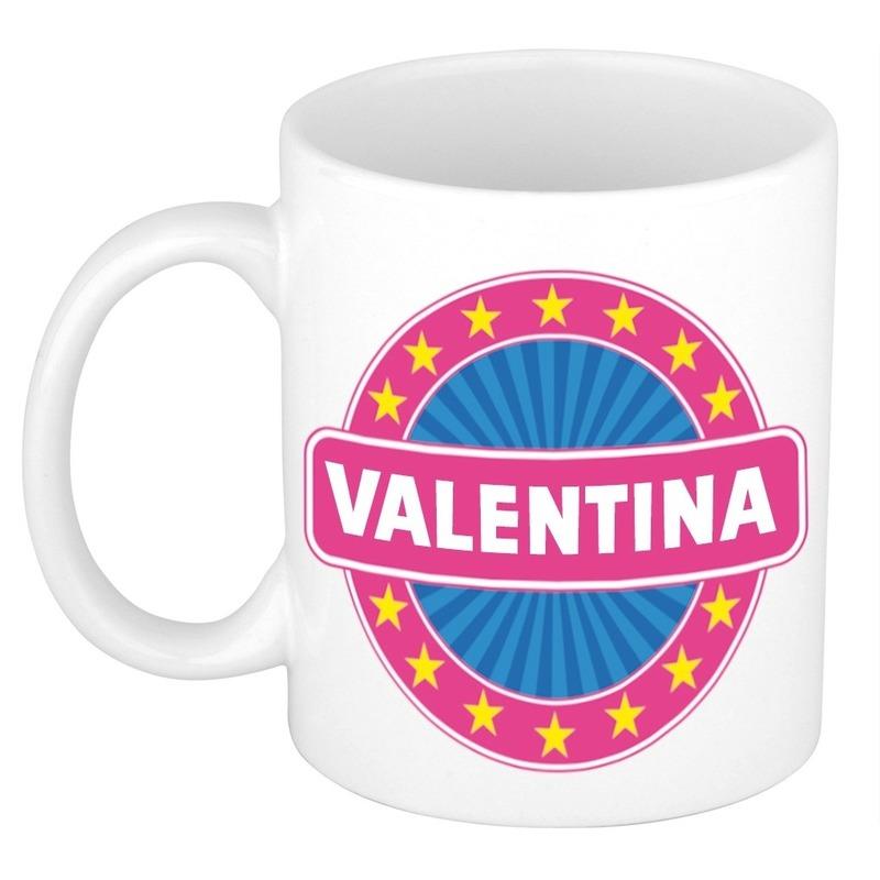 Kado mok voor Valentina