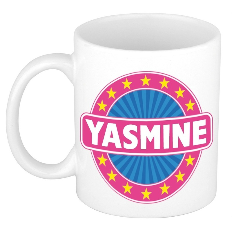 Kado mok voor Yasmine