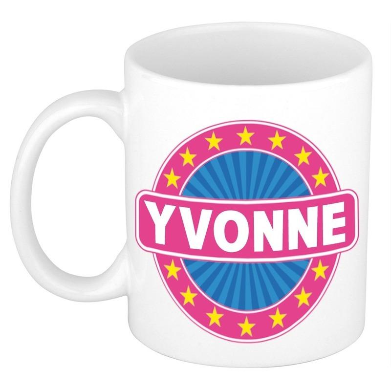 Kado mok voor Yvonne