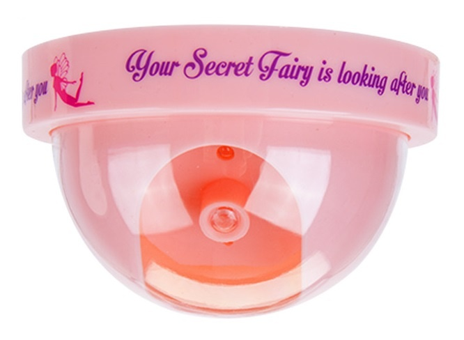 Kamparo Secret Fairy speelgoed beveiligingscamera (diameter) roze