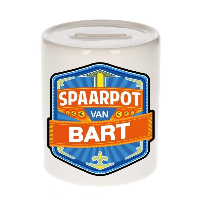 Kinder cadeau spaarpot voor een Bart