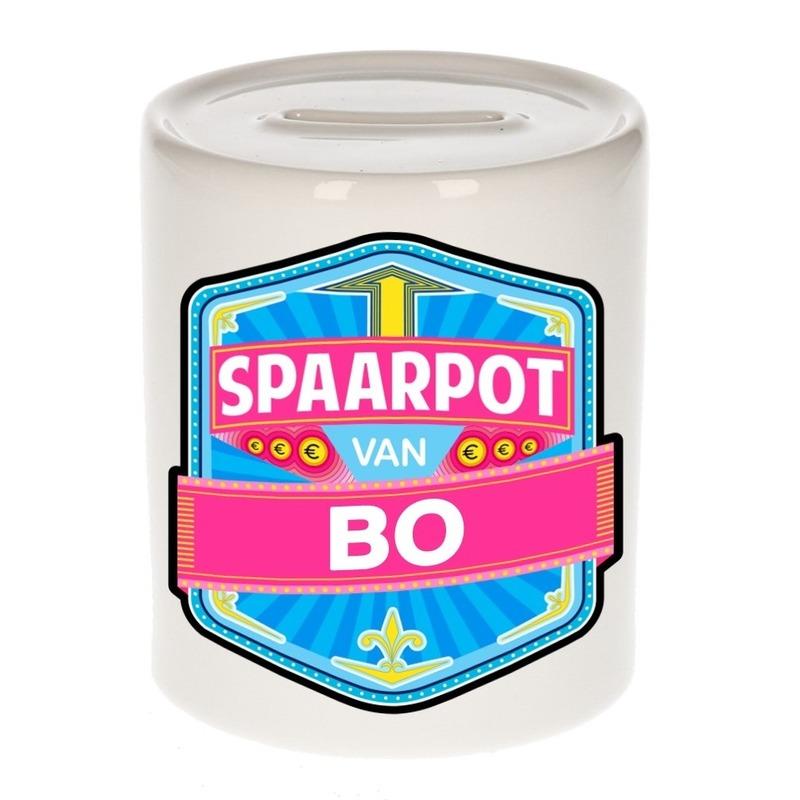 Kinder cadeau spaarpot voor een Bo