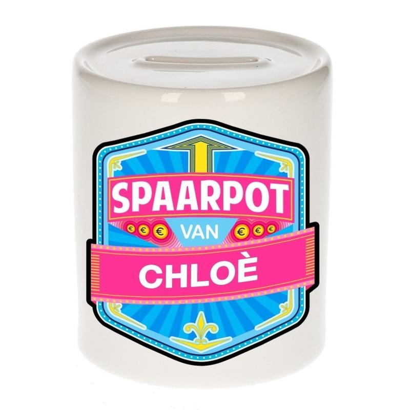 Kinder cadeau spaarpot voor een Chlo?