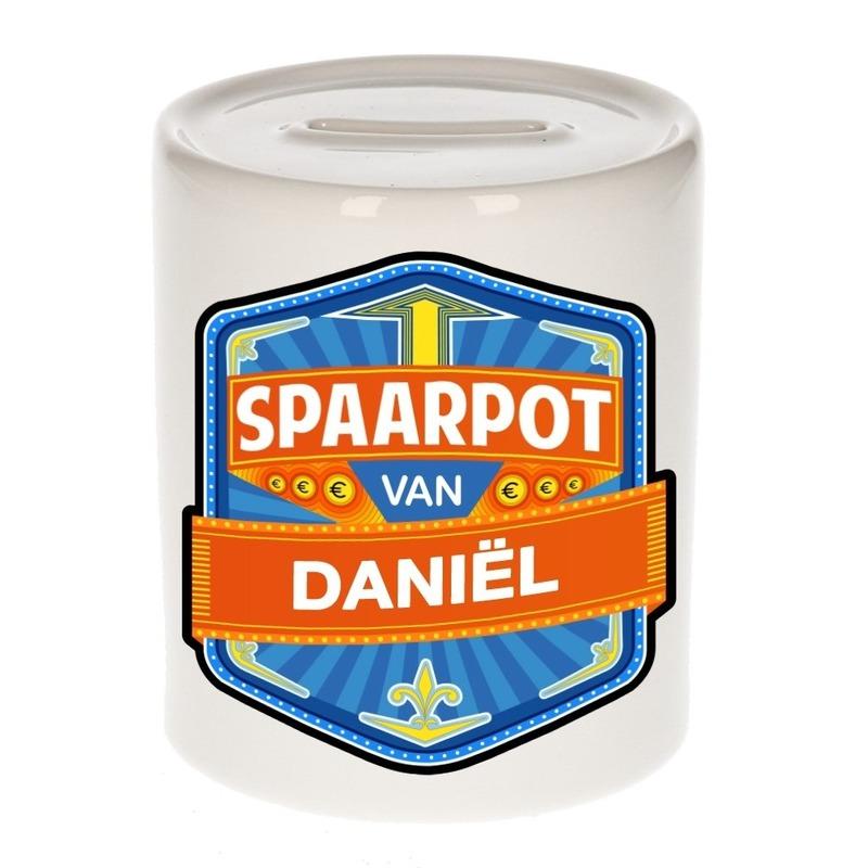 Kinder cadeau spaarpot voor een Dani?l