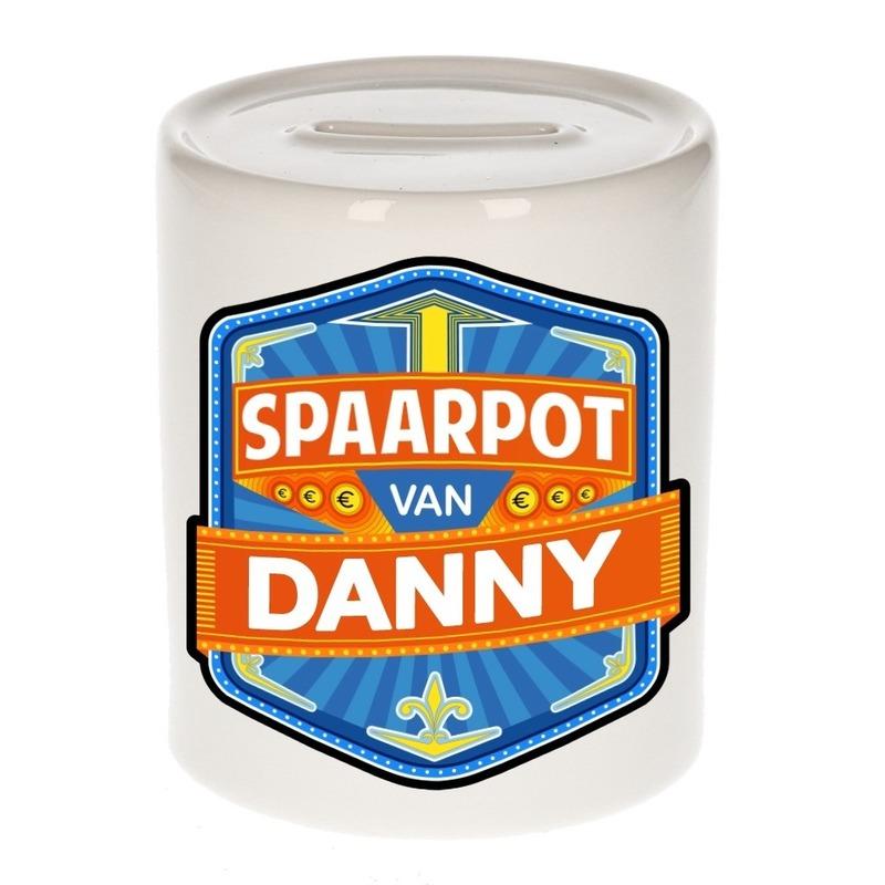 Kinder cadeau spaarpot voor een Danny