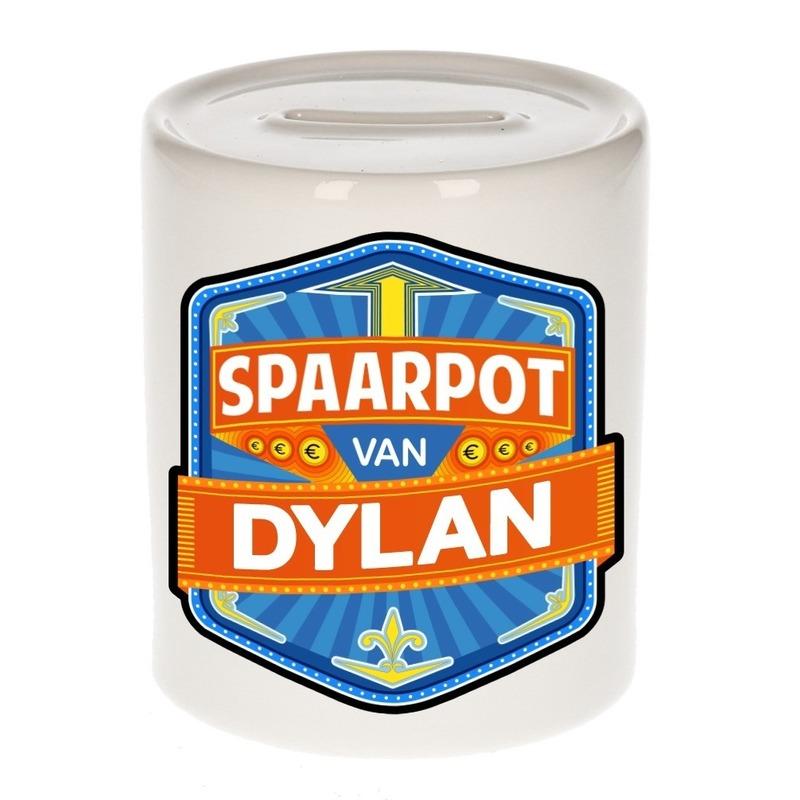 Kinder cadeau spaarpot voor een Dylan