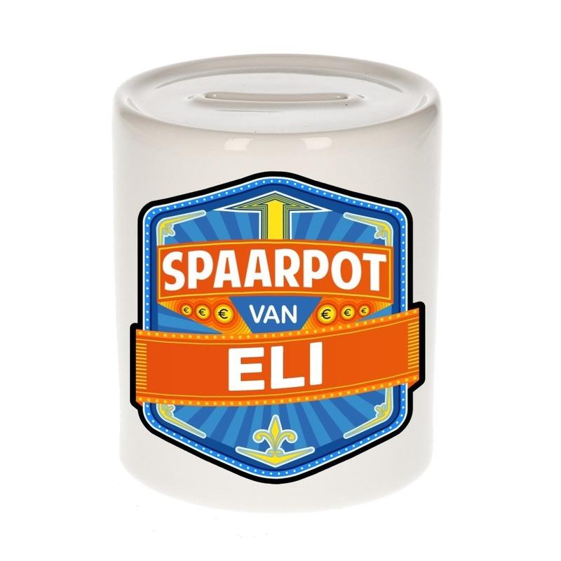 Kinder cadeau spaarpot voor een Eli