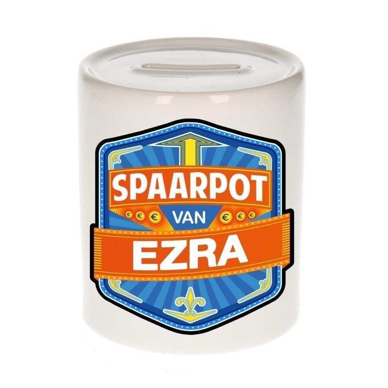 Kinder cadeau spaarpot voor een Ezra