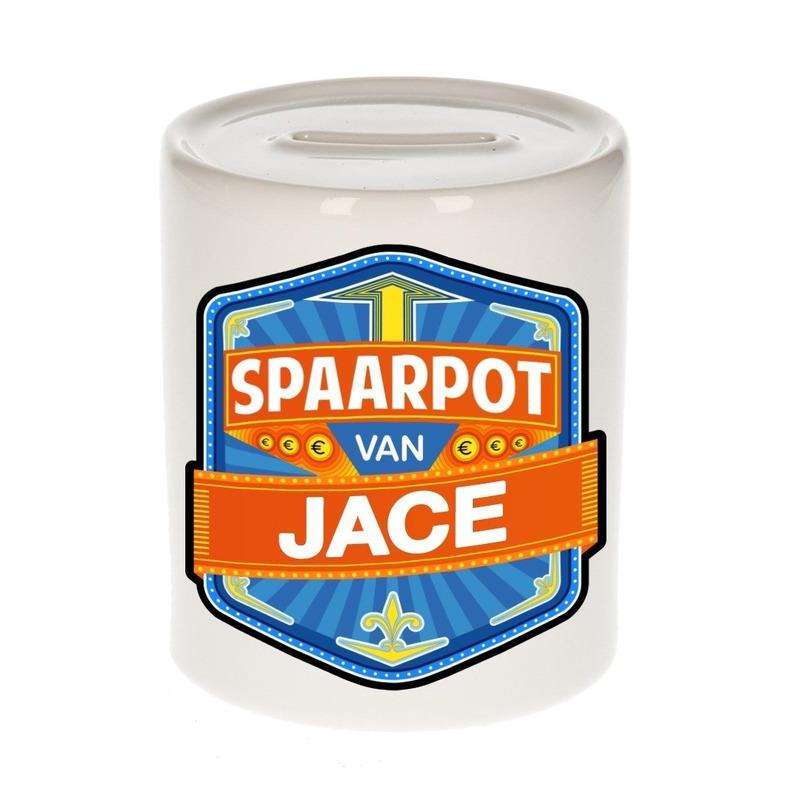Kinder cadeau spaarpot voor een Jace