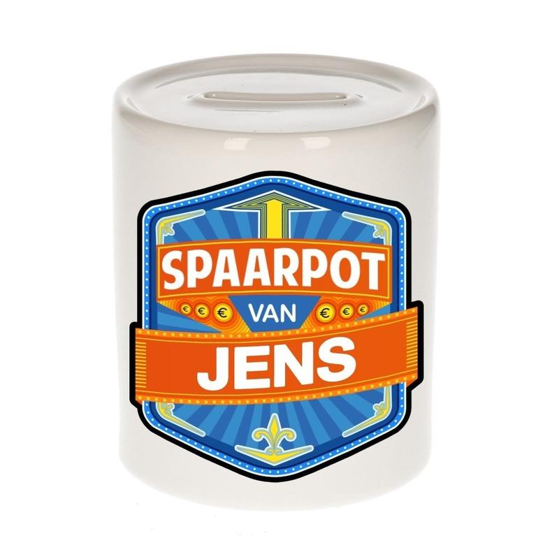 Kinder cadeau spaarpot voor een Jens