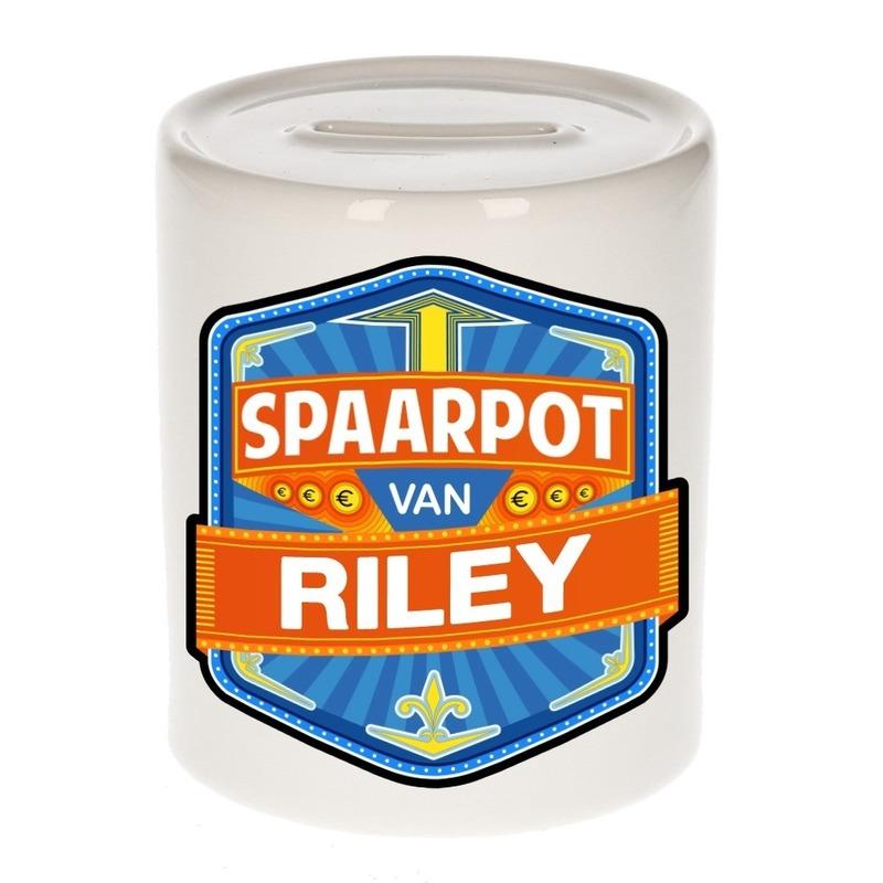 Kinder cadeau spaarpot voor een Riley