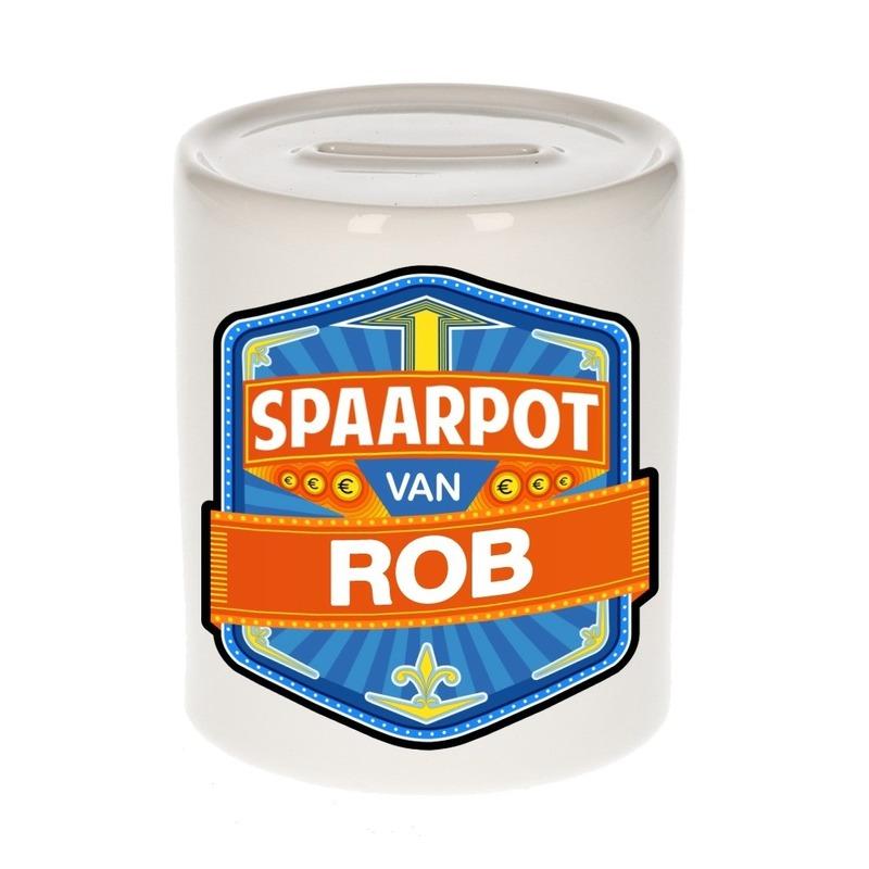 Kinder cadeau spaarpot voor een Rob