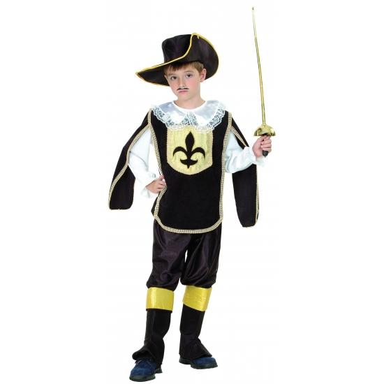 Kinder verkleedkleding musketier