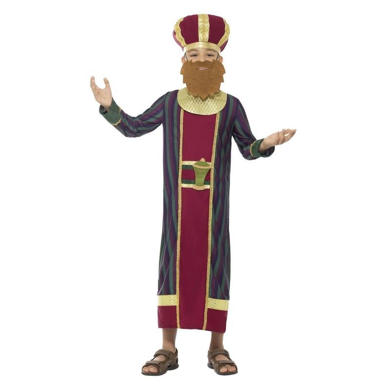 Koning Balthazar kostuum voor jongens 3-koningen kerst kostuum