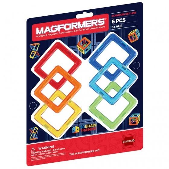 Magformers Square set 6 delig