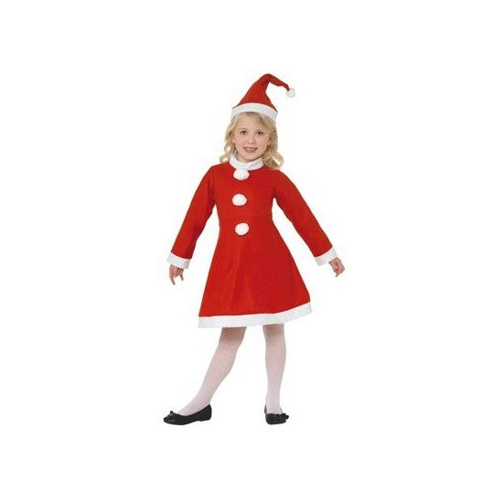 Meiden feest jurkje voor de kerst