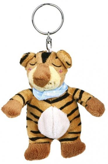 Moses sleutelhanger tijger 11 cm bruin