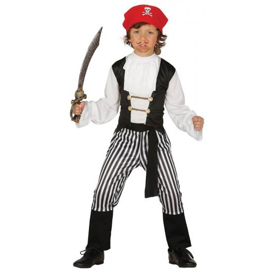 Piraten matroos kostuum