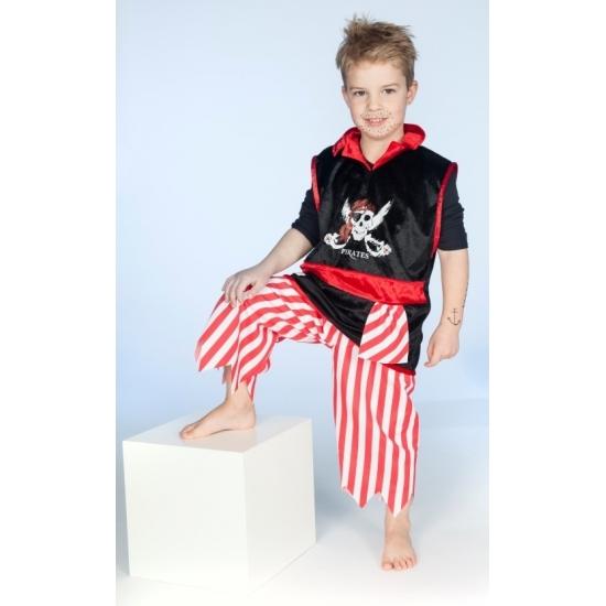 Piraten verkleedkleding voor jongens