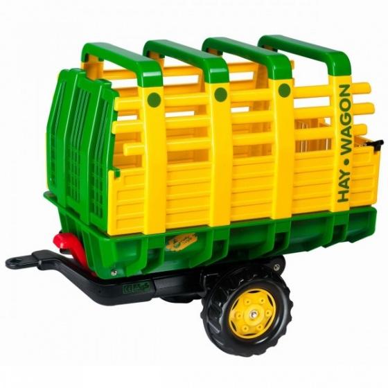 Rolly Toys aanhanger RollyHay junior groen/geel