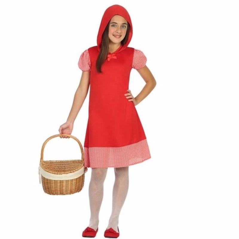 Roodkapje verkleedjurkje voor meisjes