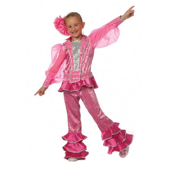 Roze discopak voor kinderen