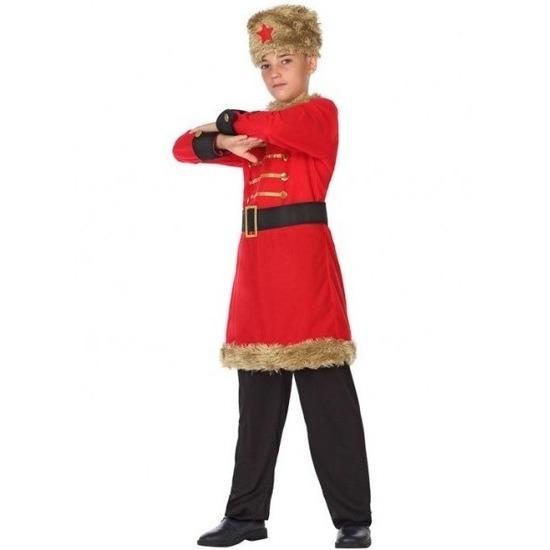 Russische Kozakken verkleed kostuum voor jongens