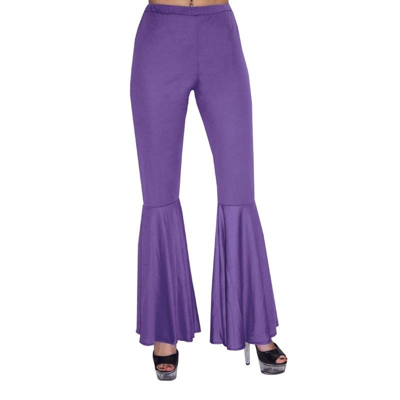 Sixties paarse broek voor kinderen