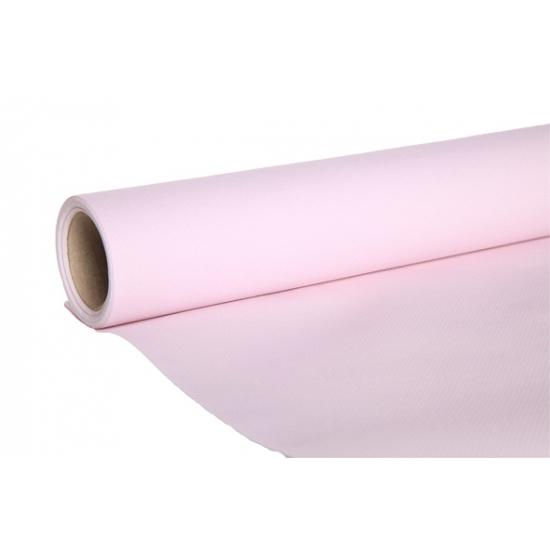 Tafelversiering luxe tafelloper roze