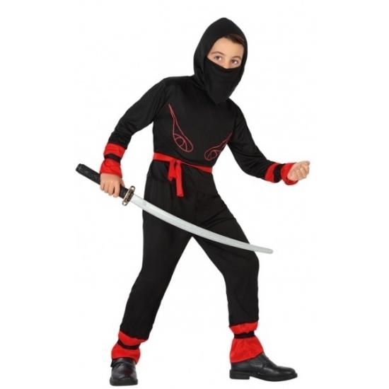 Verkleedpak sport ninja voor jongens