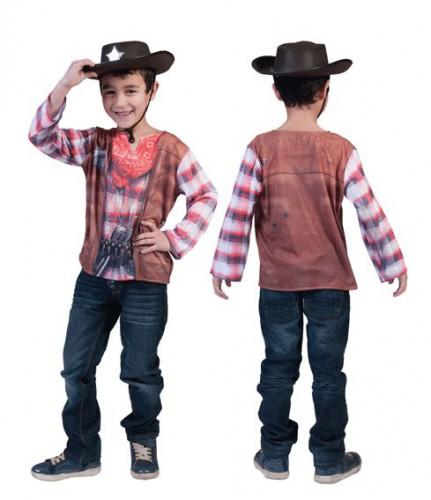 Western t-shirt voor kids