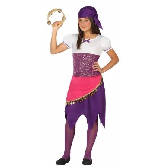 Zigeuner/buikdanseres verkleedkleding Esmeralda voor meisjes