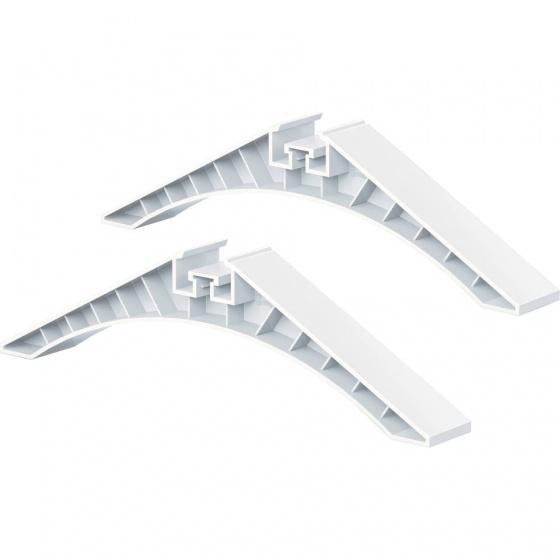 iWallz bouwpakket Steunpotenset wit 2 delig
