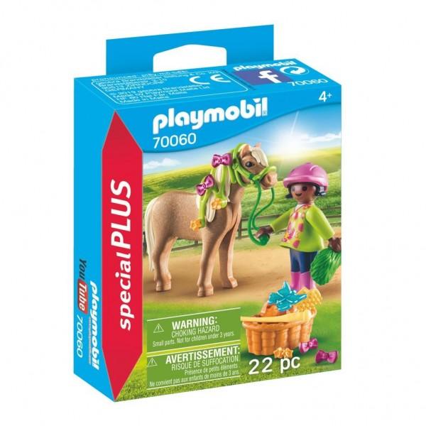 70060 Playmobil Meisje Met Pony
