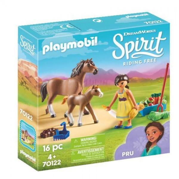 70122 Playmobil Spirit Pru met Paard en Veulen
