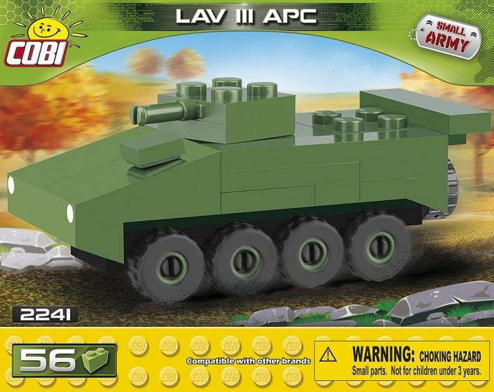 Cobi Small Army LAV III APC Nano bouwset 56 delig 2241