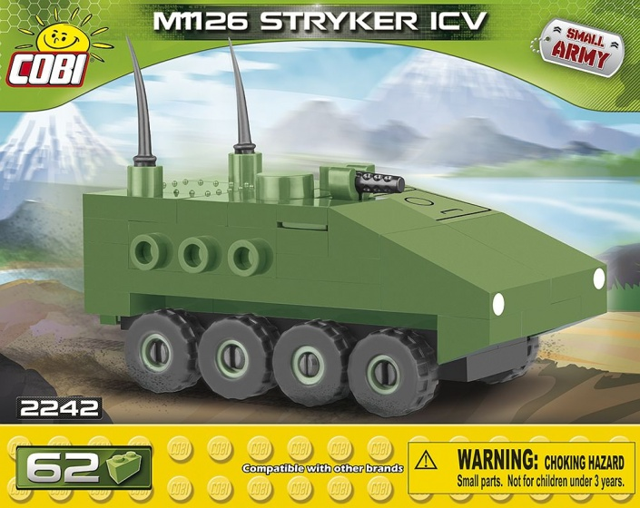 Cobi Small Army M1126 Stryker bouwset 62 delig 2242