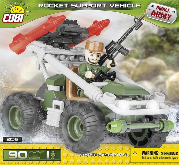 Cobi Small Army Rocket Support Vehicle bouwset 90 delig 2156